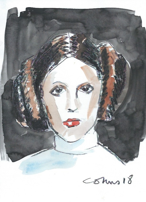 Carrie Fisher by Conus
